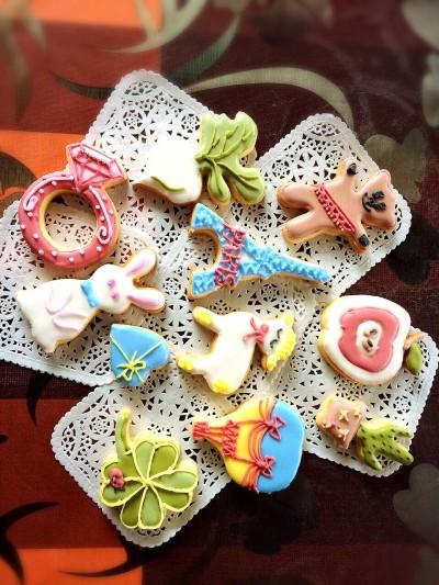 8月4日(火) 夏休み!アイシングクッキー体験レッスン!!大人も楽しめる!!