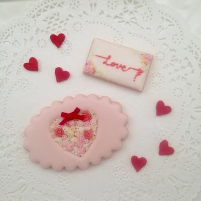 Valentine アイシングクッキーイベント